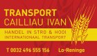 Transport Cailliau Ivan BV, 0 Vacatures